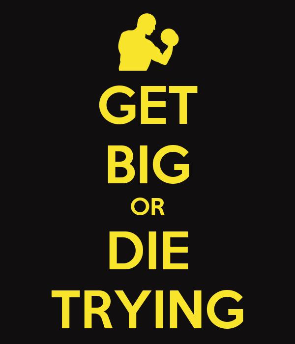 get big or die trying poster carlos portela keep calm