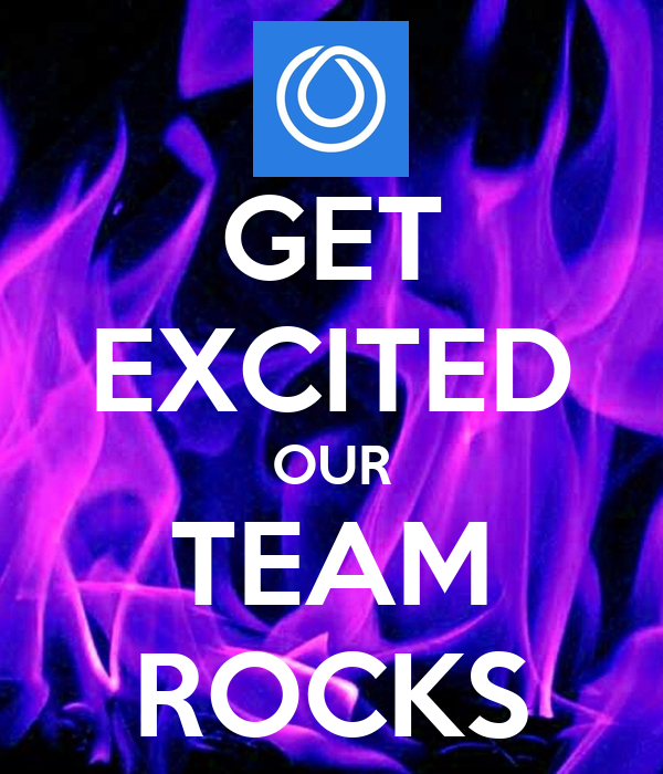 get excited our team rocks poster tammy keep calm o matic
