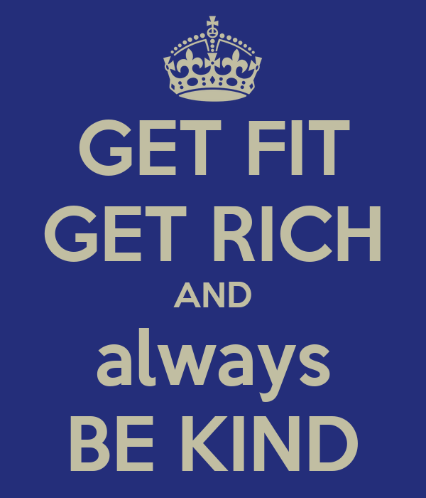 Bildresultat för get fit and rich