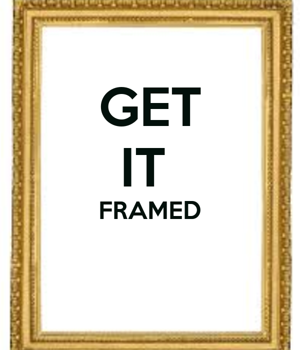 GET IT FRAMED Poster | BELIEVEYOURSELF | Keep Calm-o-Matic