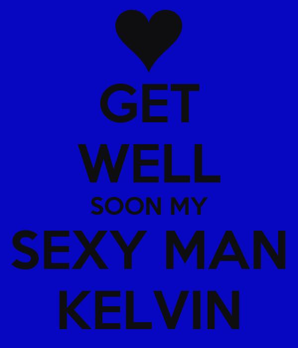 get well sexy man