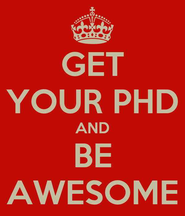 Getting a Ph.D.?