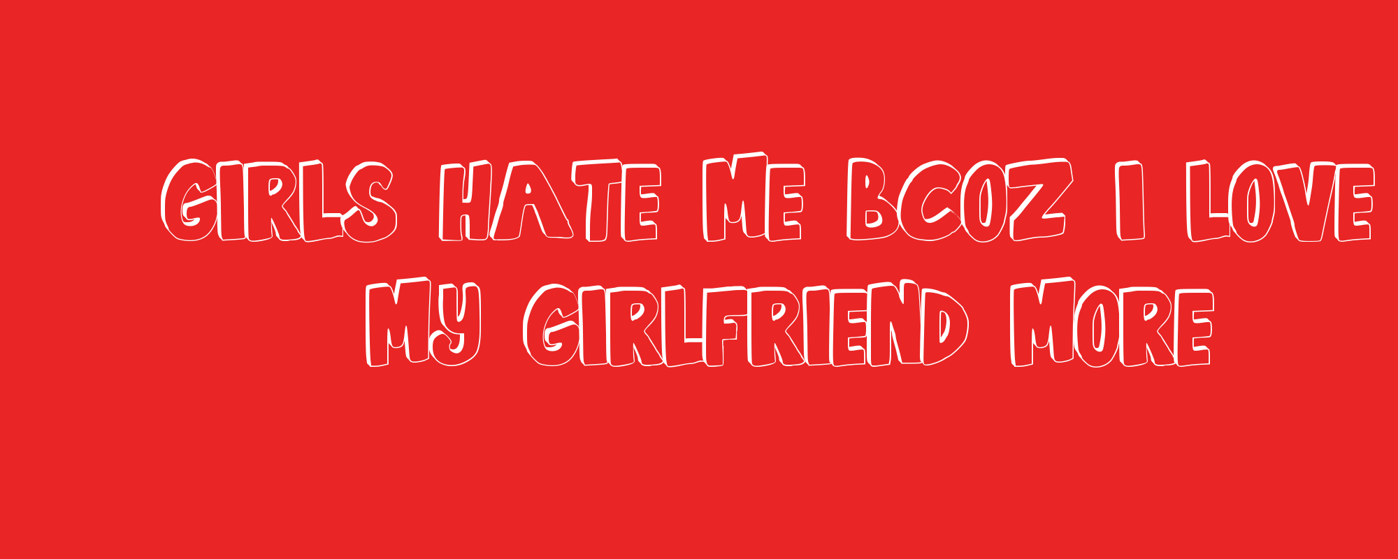 Girl who hates dating