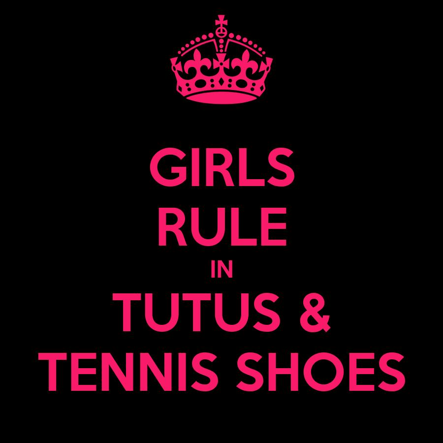 Tutus Tennis Shoes