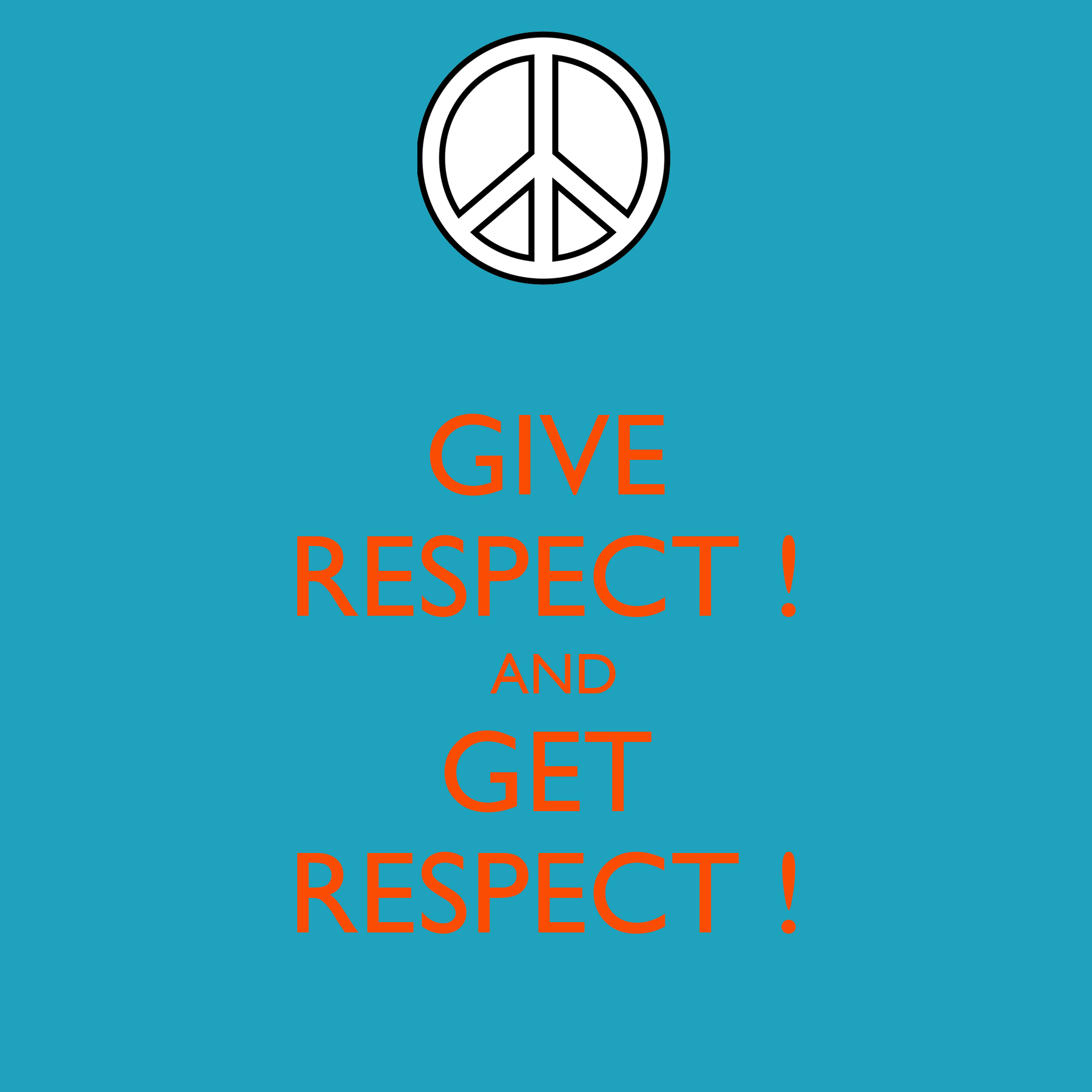 give respect get respect essay