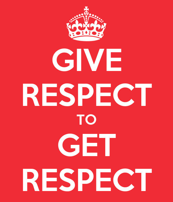 essay on give respect take respect Respect is an overall evaluation you give someone based on many factors – what that person is doing with their life, how they treat you and others, whether they are honest or not and if they seem to consistently do good things, large or small, for other people.