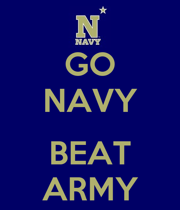Go Navy Beat Army Poster Hallowell Keep Calm O Matic
