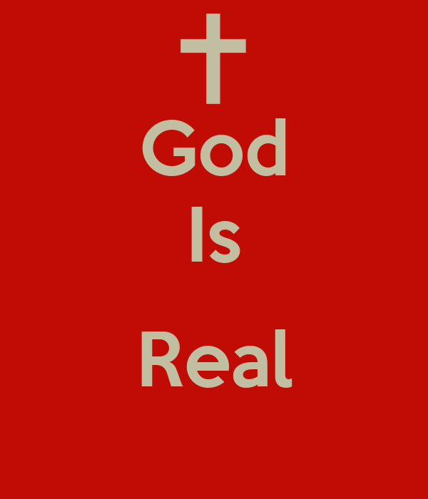 God Is Real Poster