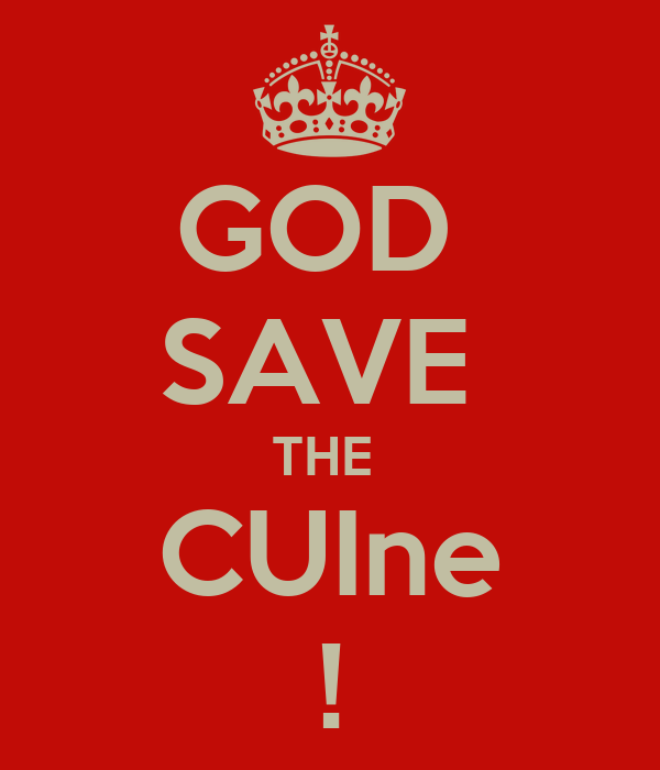 God save the cuine poster lo keep calm o matic for Cuine