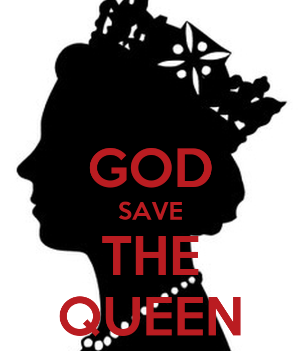god save the queen poster nn keep calm o matic. Black Bedroom Furniture Sets. Home Design Ideas