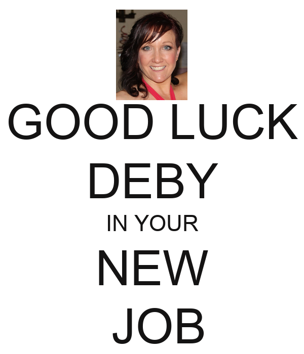 good luck new job quotes