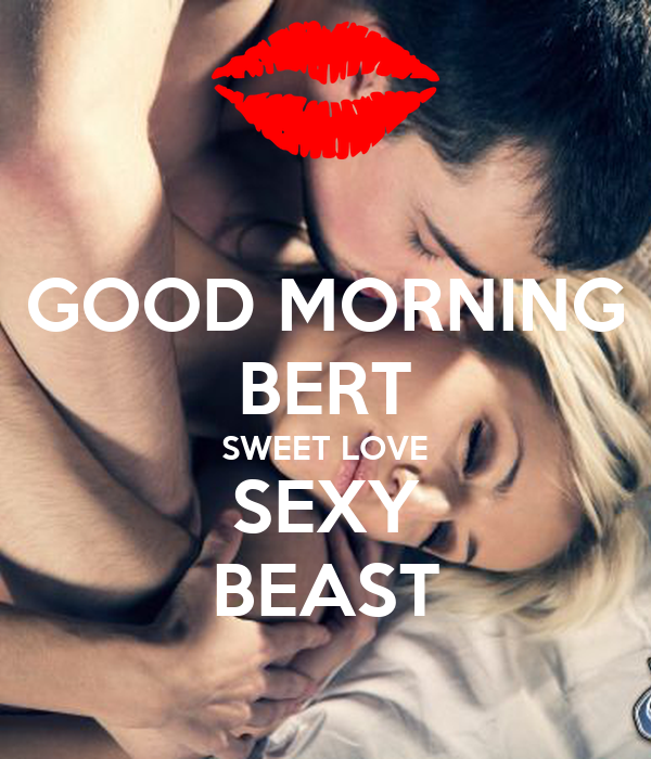 Good morning sexy lover