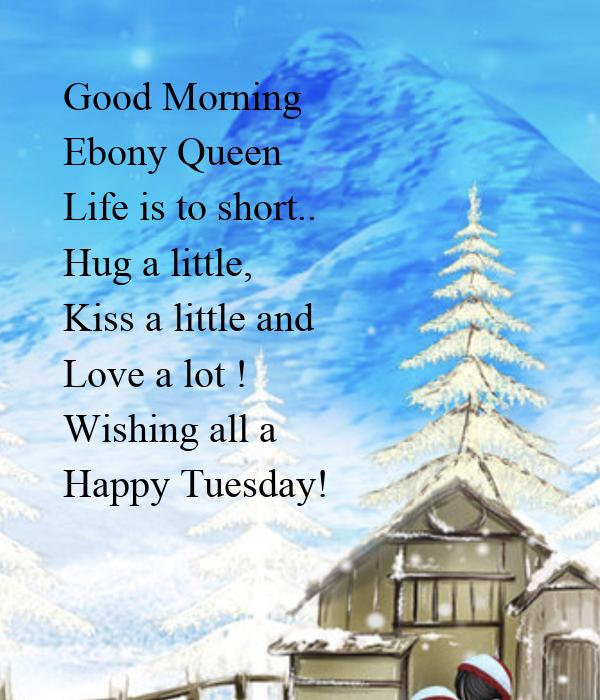 Ebony morning