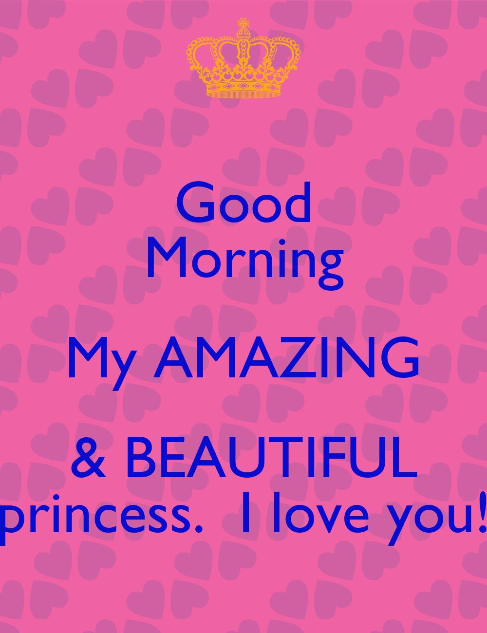 Good Morning My Love Lovingyou : The gallery for gt i love you princess