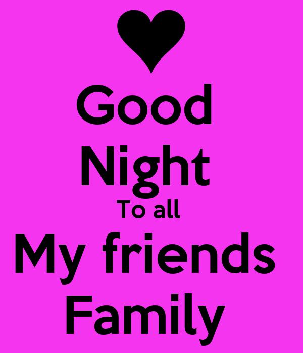 Good Night To all My f...