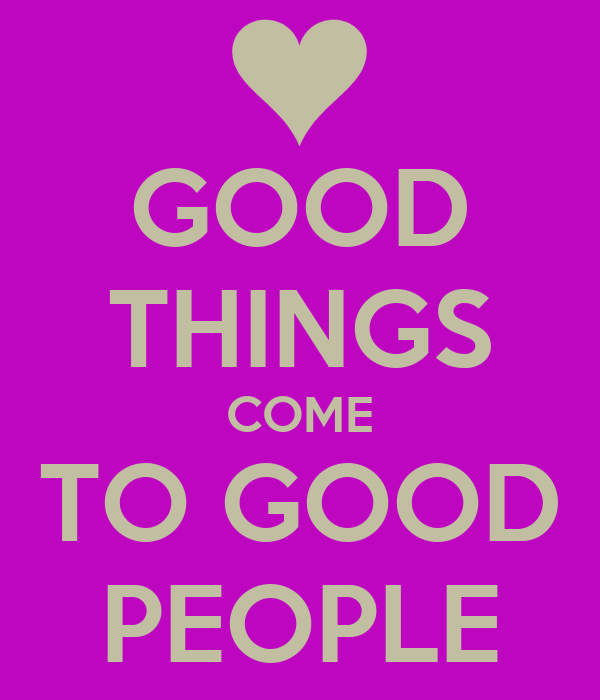 Good Good Things - Good Good Things