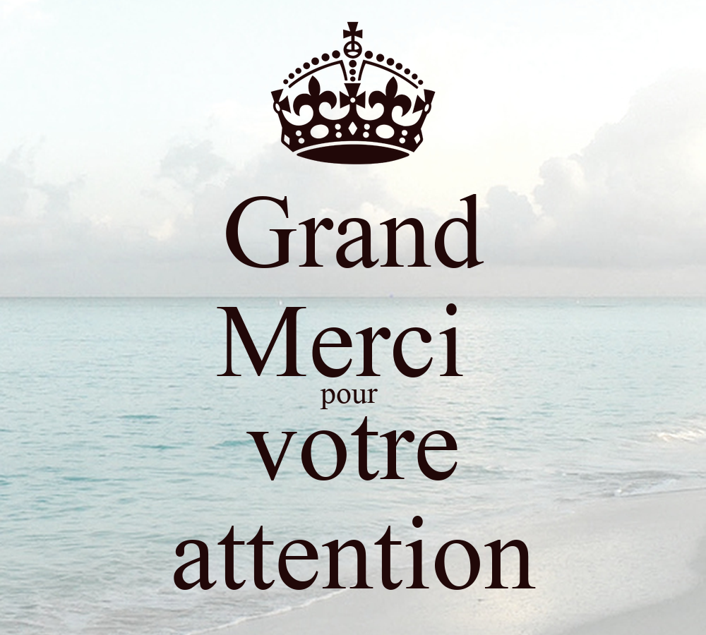 grand merci pour votre attention poster nastea keep calm o matic. Black Bedroom Furniture Sets. Home Design Ideas