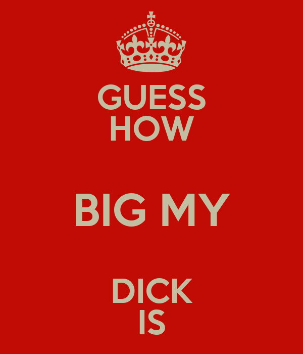 My Cock Is Gone