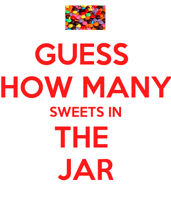 Juicy image in guess how many in the jar printable