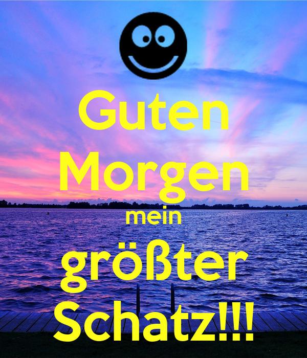 Guten Morgen Mein Größter Schatz Poster Busted Keep
