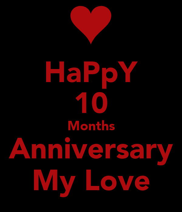 Happy months anniversary my love poster naoumi keep