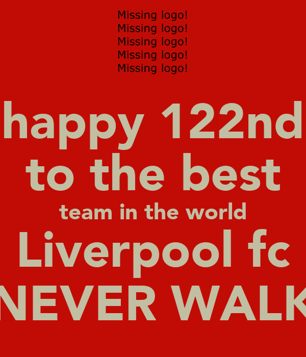 To delete this to the best team in world liverpool fc youll never
