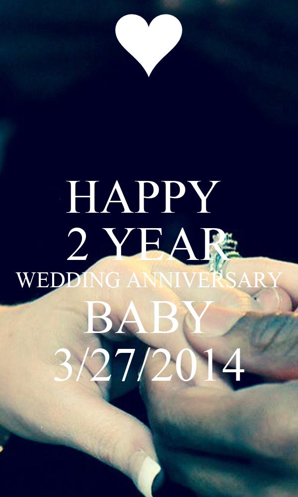 Happy year wedding anniversary baby  poster