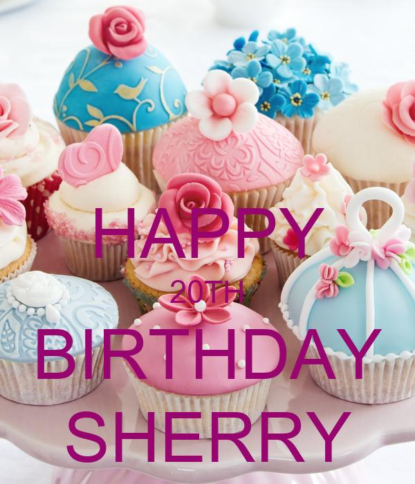 Happy Birthday Sherry Cake
