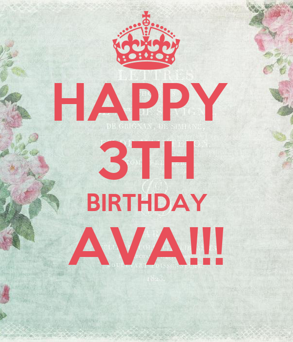 happy birthday ava