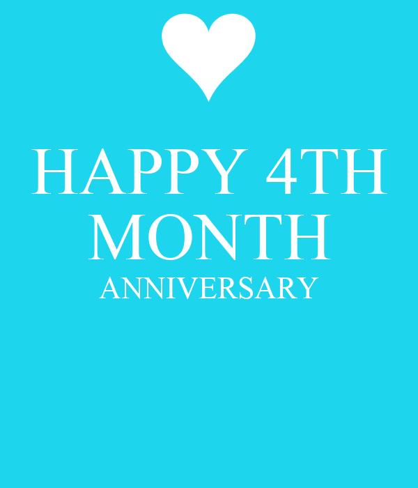 Happy th month anniversary poster jonỉe keep calm o matic