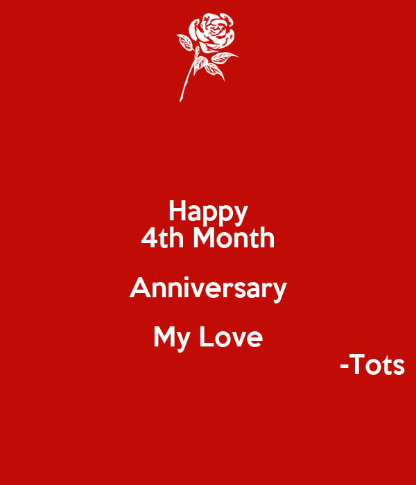Happy th month anniversary images
