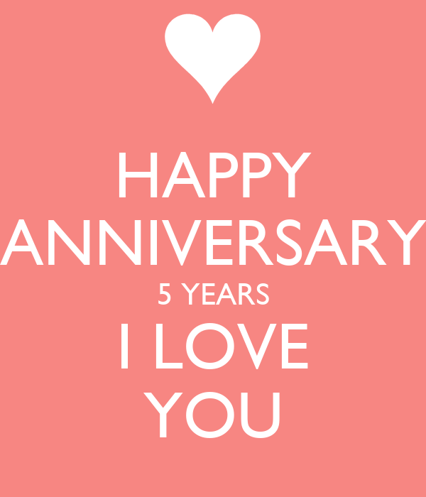 Happy anniversary years i love you poster meg keep