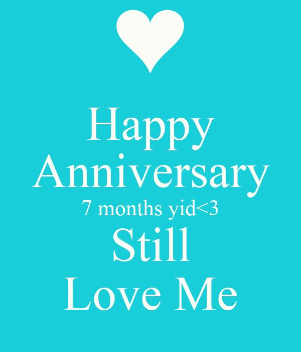 Happy anniversary months yid