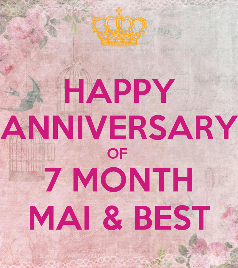 Happy anniversary of month mai best poster