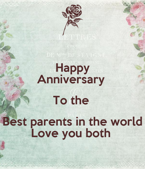 happy anniversary images for parents