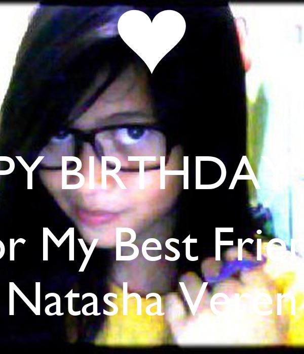 HAPPY BIRTHDAY 13th For My Best Friend, Natasha Veren
