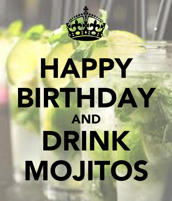 Happy Birthday Cake Cocktails