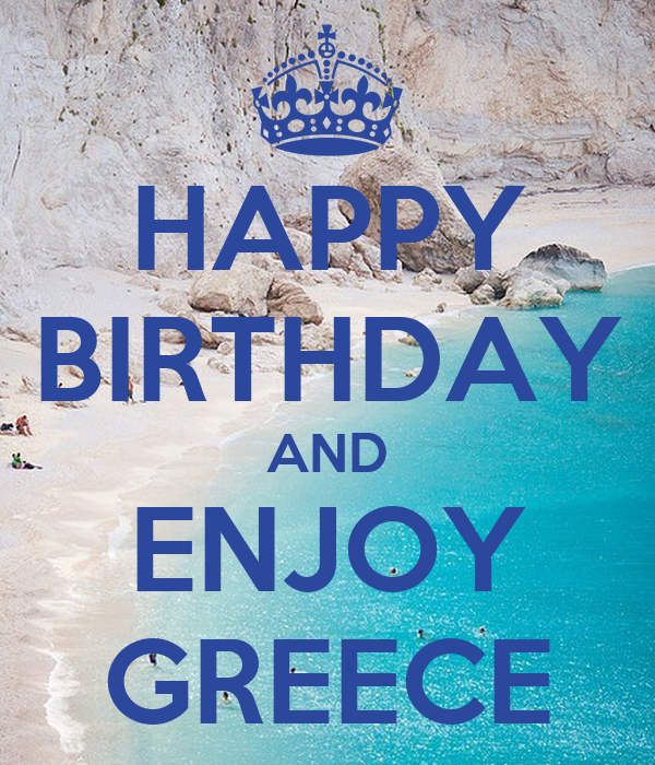 how to write happy birthday in greek How do you say happy birthday  or the equivelant by minoan sun goddess » wed nov 06,  so if it is necessary to say happy birthday in classical greek, it .