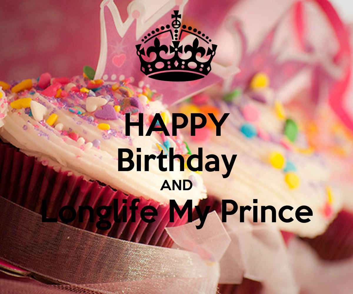 HAPPY Birthday AND Longlife My Prince Poster
