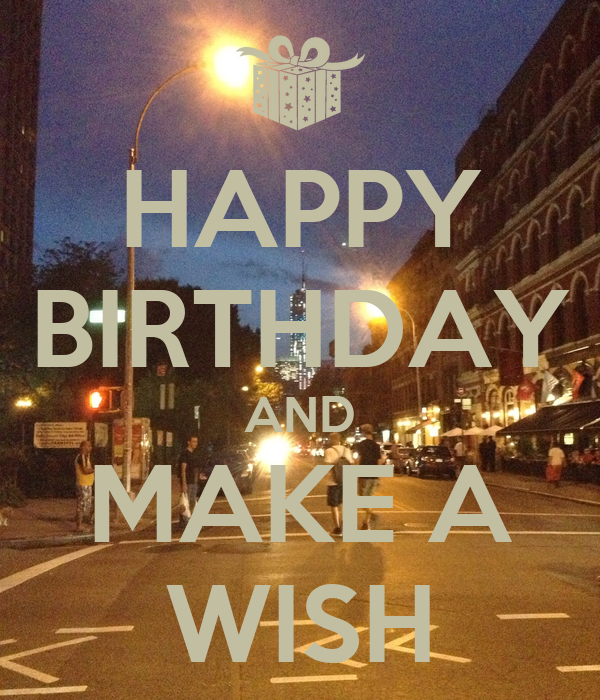 Happy Birthday And Make A Wish Poster Federica Keep Happy Birthday Make A Wish
