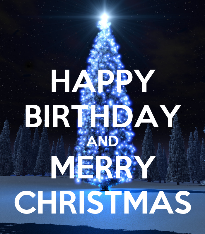 happy birthday and merry christmas poster izzitrix keep calm o matic