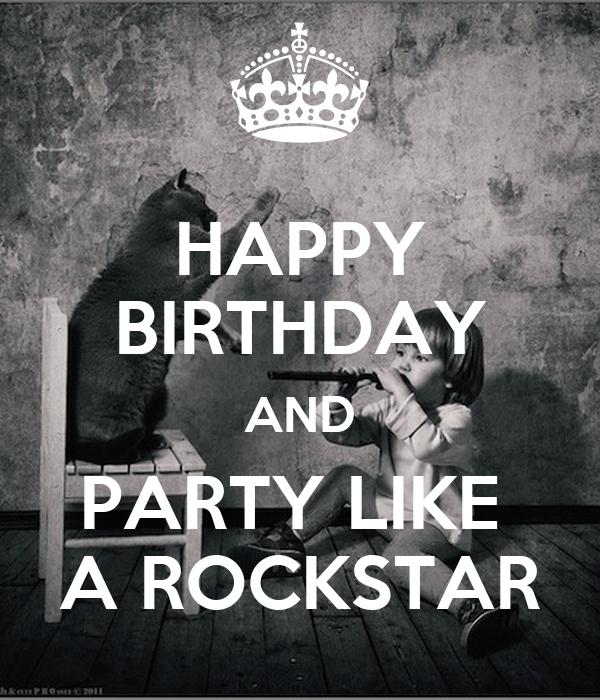 party lick a rockstar