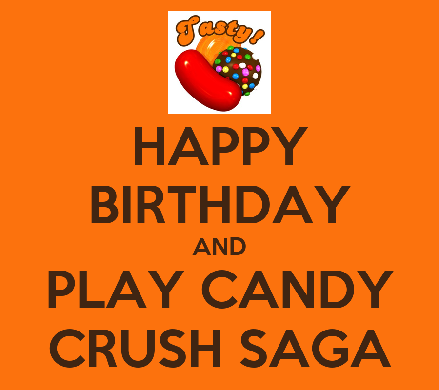 how to make a birthday candy poster