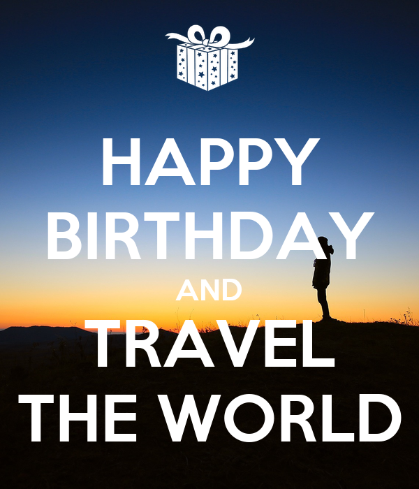 Birthday World Traveler Images