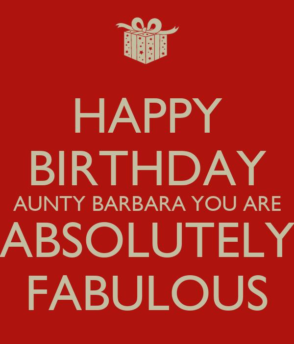 Absolutely Fabulous Birthday Cake