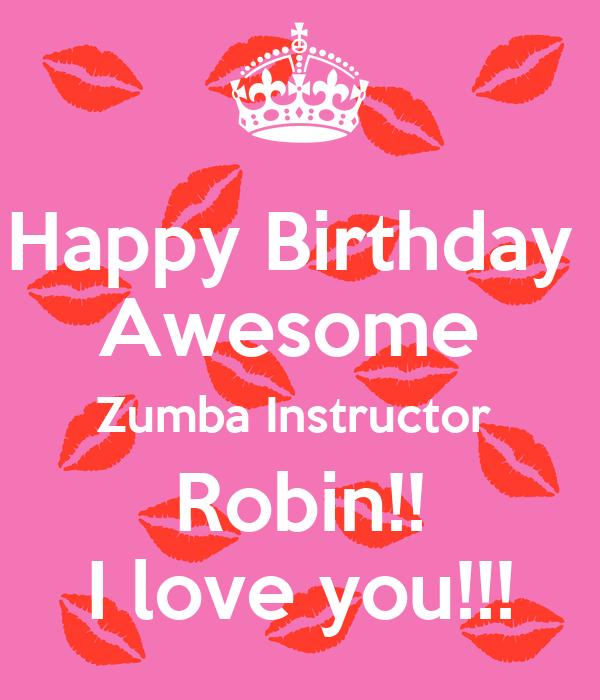 Birthday Wishes For Zumba Instructor