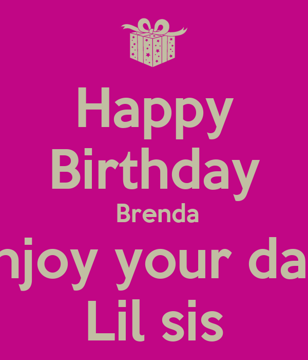 happy birthday to deceased sister | just b.CAUSE