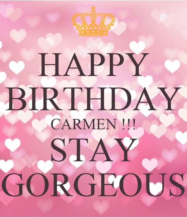 hd happy birthday carmen - photo #4
