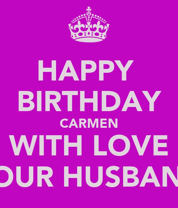 hd happy birthday carmen - photo #36