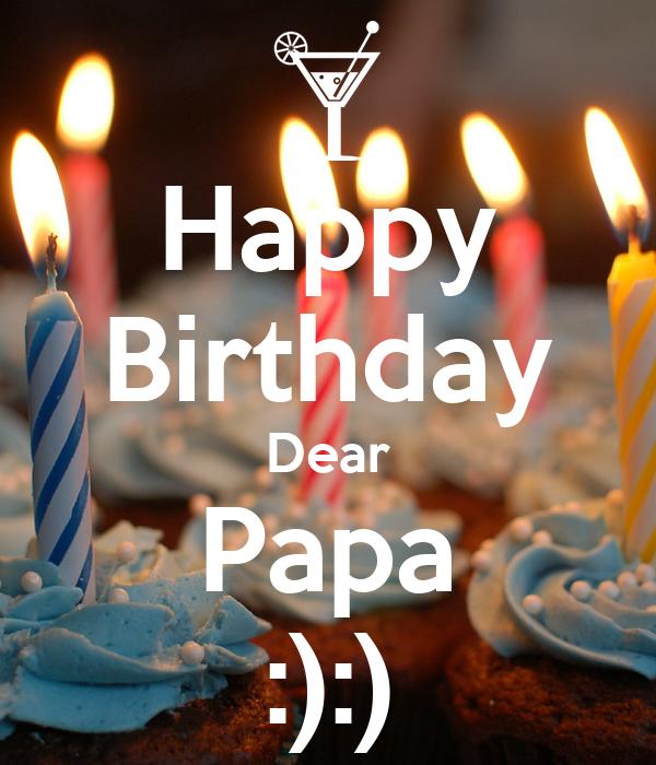 Happy Birthday Dear Papa Poster Amy Keep CalmoMatic
